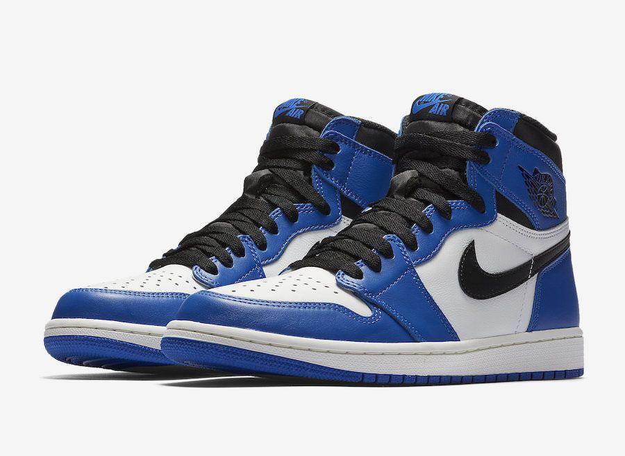 2017 Nike Air Jordan 1 Nike Retro High Og Royal Blue Nike Air Jordan 1 High Game Royal Blue Black White Size 14 555088 403 Sneakers Fashion Air Jordans Air Jordan Shoes