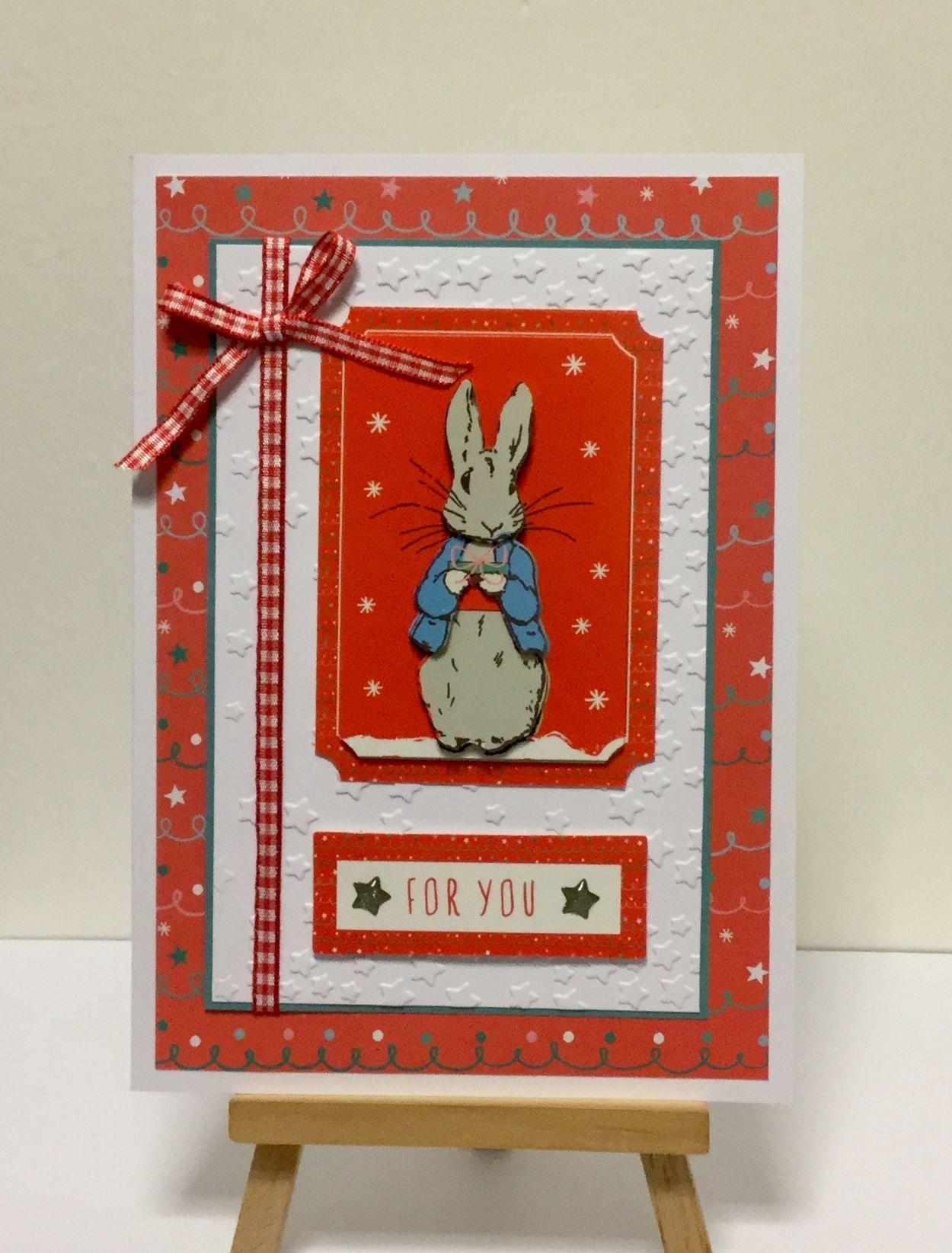 Peter Rabbit Beatrix Potter Christmas Card Christmas Card Inspiration Cards Handmade Christmas Cards