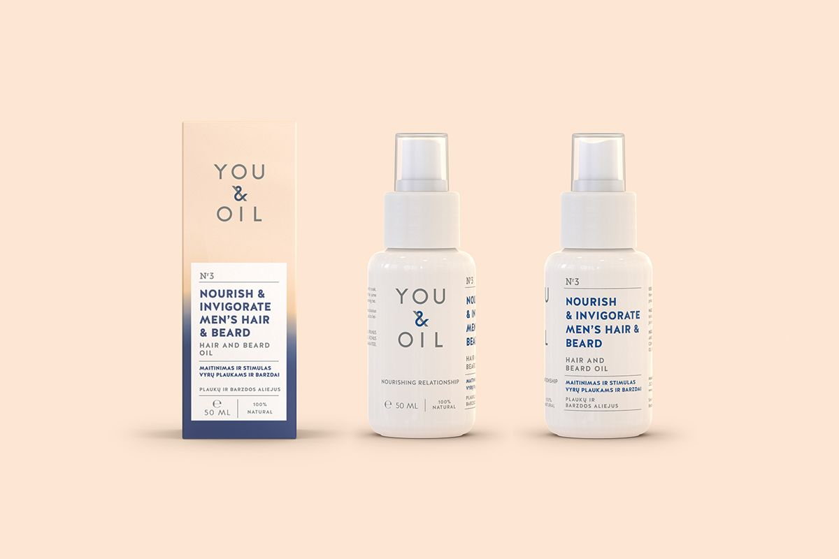YOU & OIL natural cosmetics on Behance