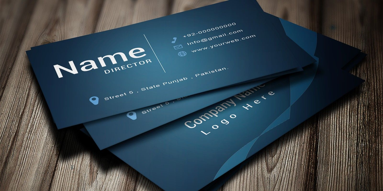 Modern Business Card Template Intended For Buisness Card Templates Busines Modern Business Cards Business Card Template Photoshop Business Card Template Word