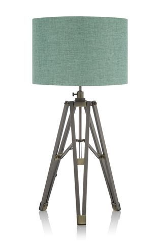 Buy pewter finish tripod table lamp from the next uk online shop