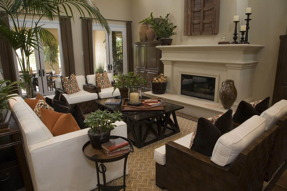 Bon 36 Elegant Living Rooms That Are Richly Furnished U0026 Decorated