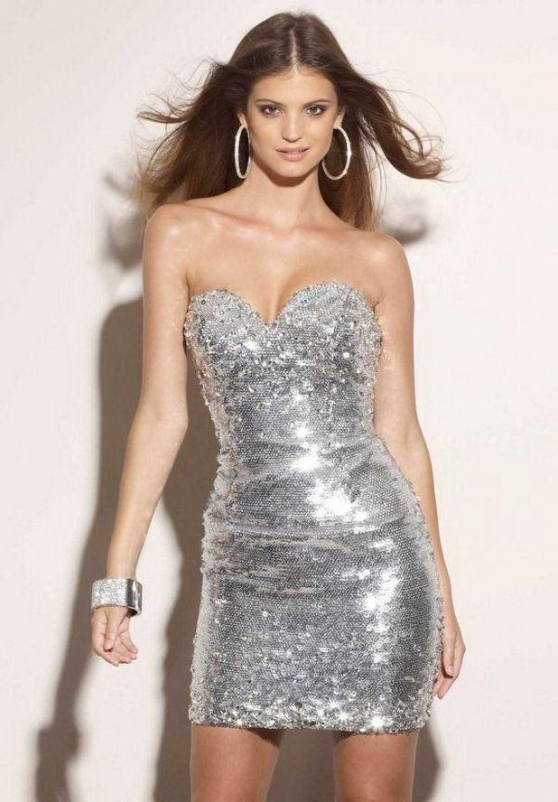 Tasli Kisa Abiye Modelleri Strapless Dress Formal Dresses Cocktail Dress