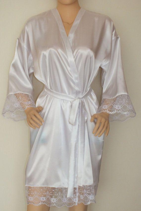 e34bc50d7017 White Silk robe