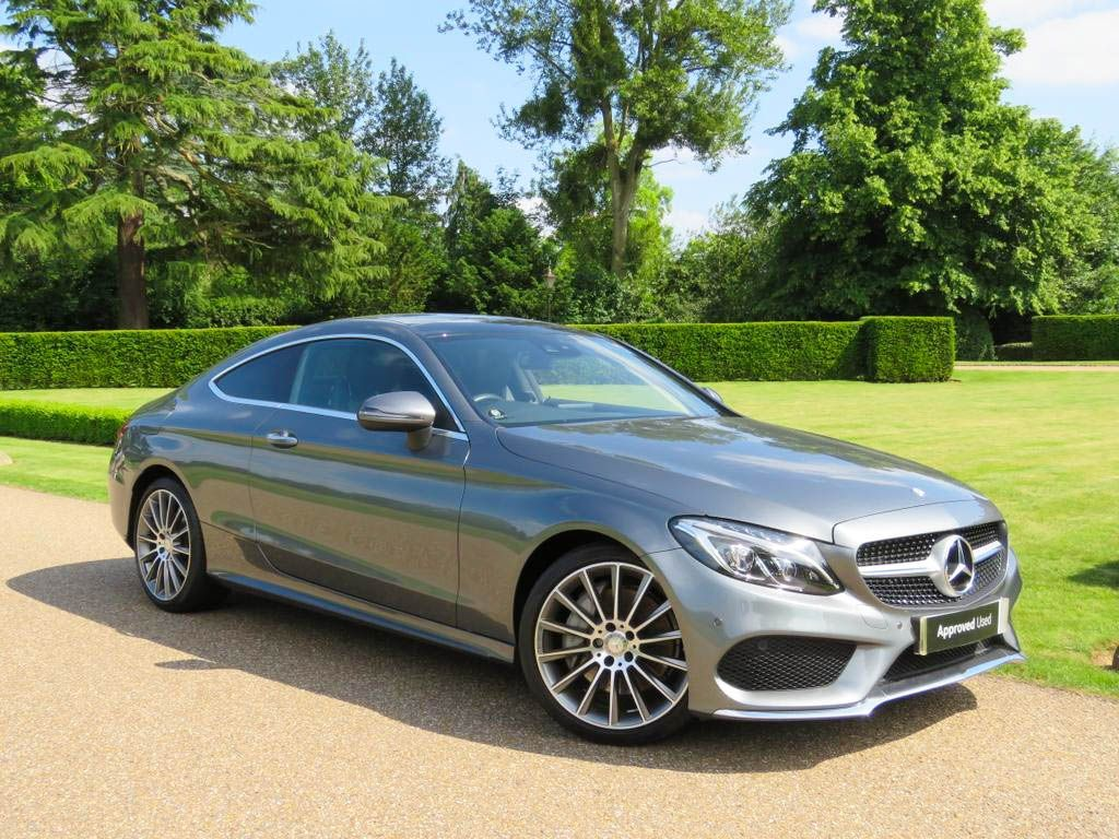 Introducing The Approved Used C300 Coupe In Mountain Grey Metallic
