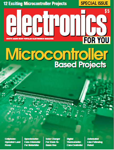 Electronics for you Magazine Special Issue- Microcontroller Projects ...