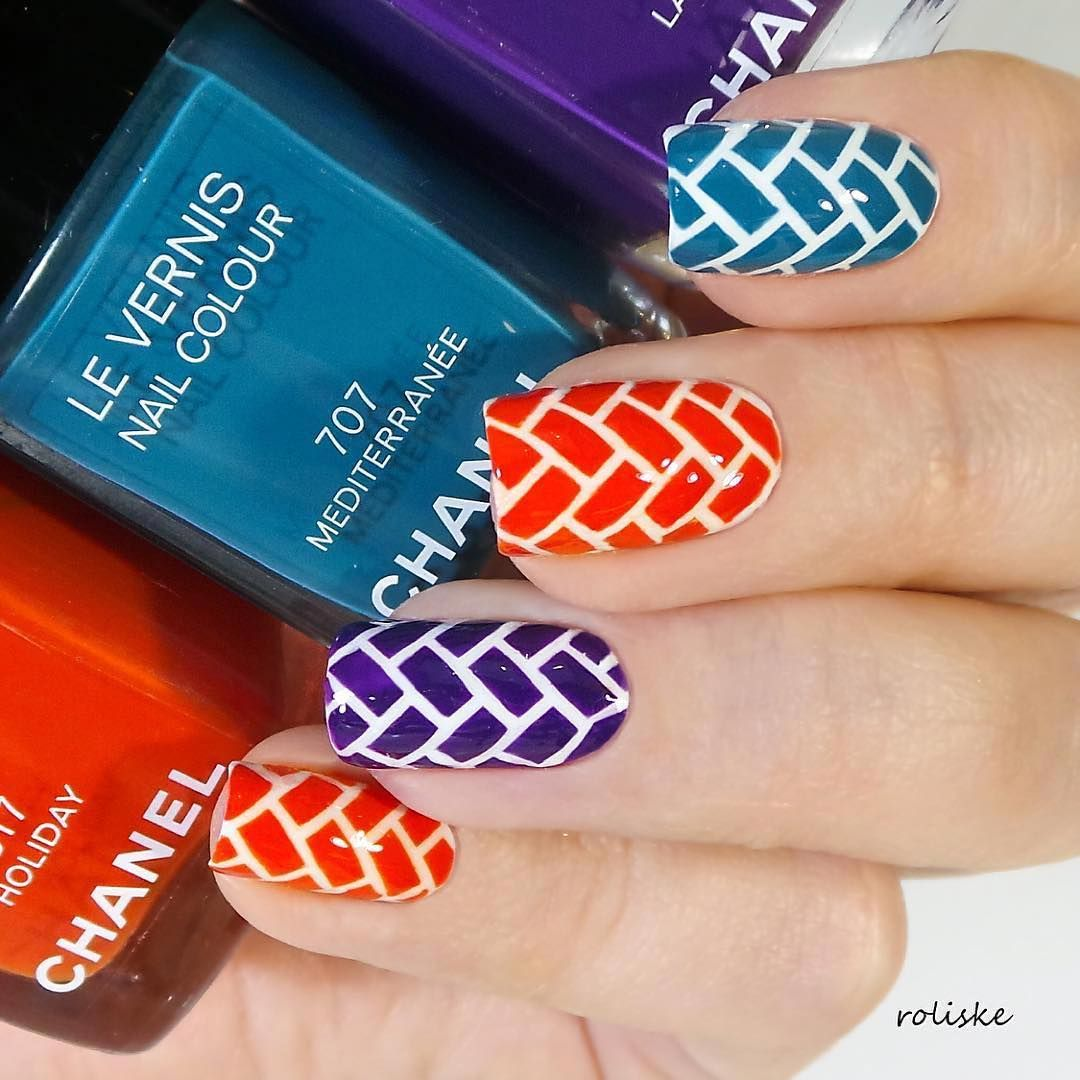 Herringbone Stencils Nail Stencils Herringbone And Nail Art Stickers