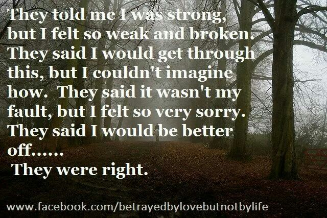 Better off.. A help for narcissistic sociopath relationship abuse.