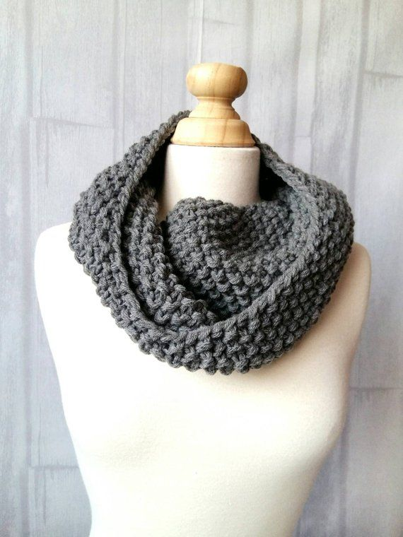 ae4d10fe3246 Women s Chunky Knit Cowl Scarf - Chunky Infinity Cowl - Knit Cowl Women -  Neck Warmer for Women – Fa