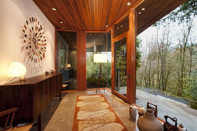 Hoke Residence House In The Forest House House Design House Interior