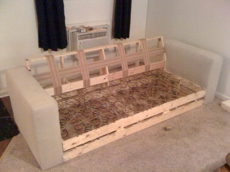 building your own couch...this would def. be a project that i would love to  do together! 6378KGUA
