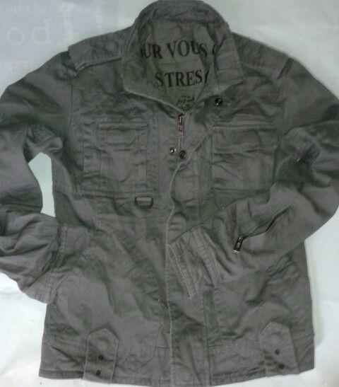 TBJ NEARBY army style Denim parka Size   95 Panjang lengan   62 cm Panjang   ae23130928