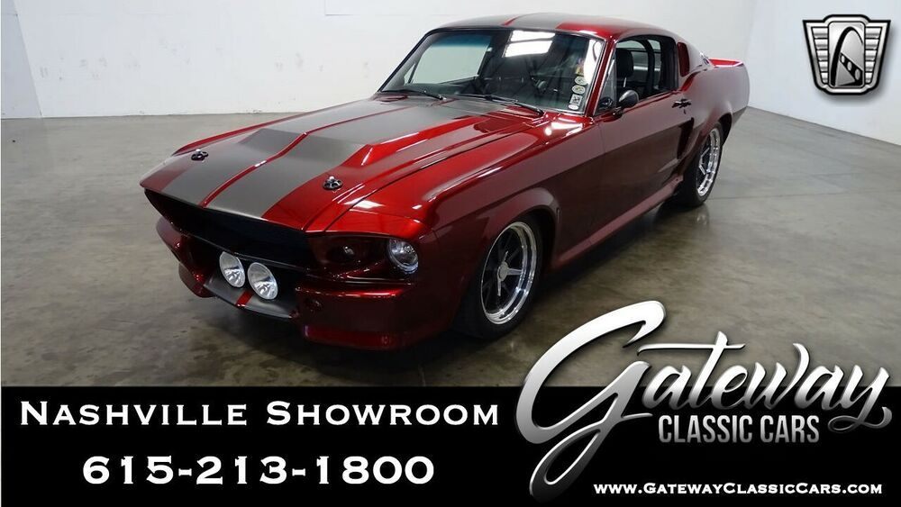 1967 Ford Mustang Gt Fastback 4 6l Supercharged V8 1967 Ford