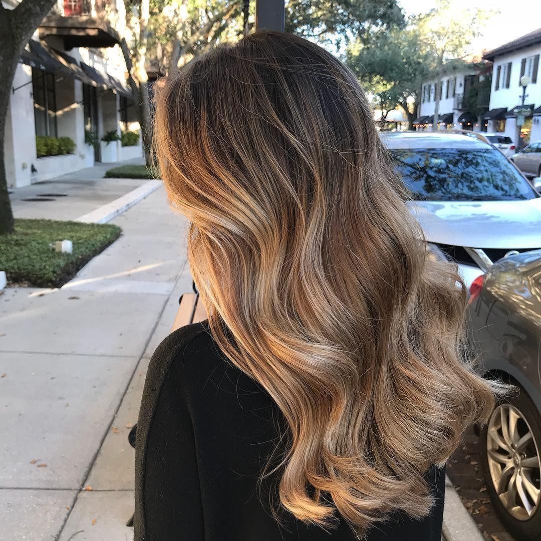 "Orlando Balayage & Extensions on Instagram: ""Hair Goals Af!!! #balayage #blondebalayge #stellalucasalon #stellalucacolor #bestsalonorlando #beststylistorlando #bestbalayageorlando…"""