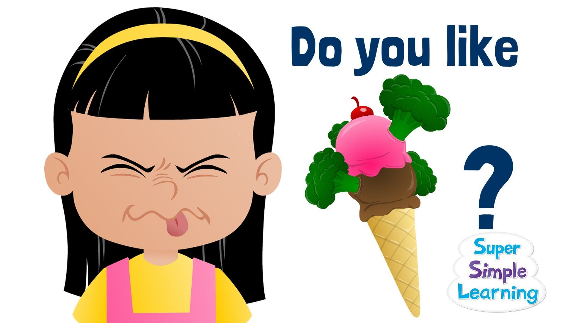 Do You Like Broccoli Ice Cream