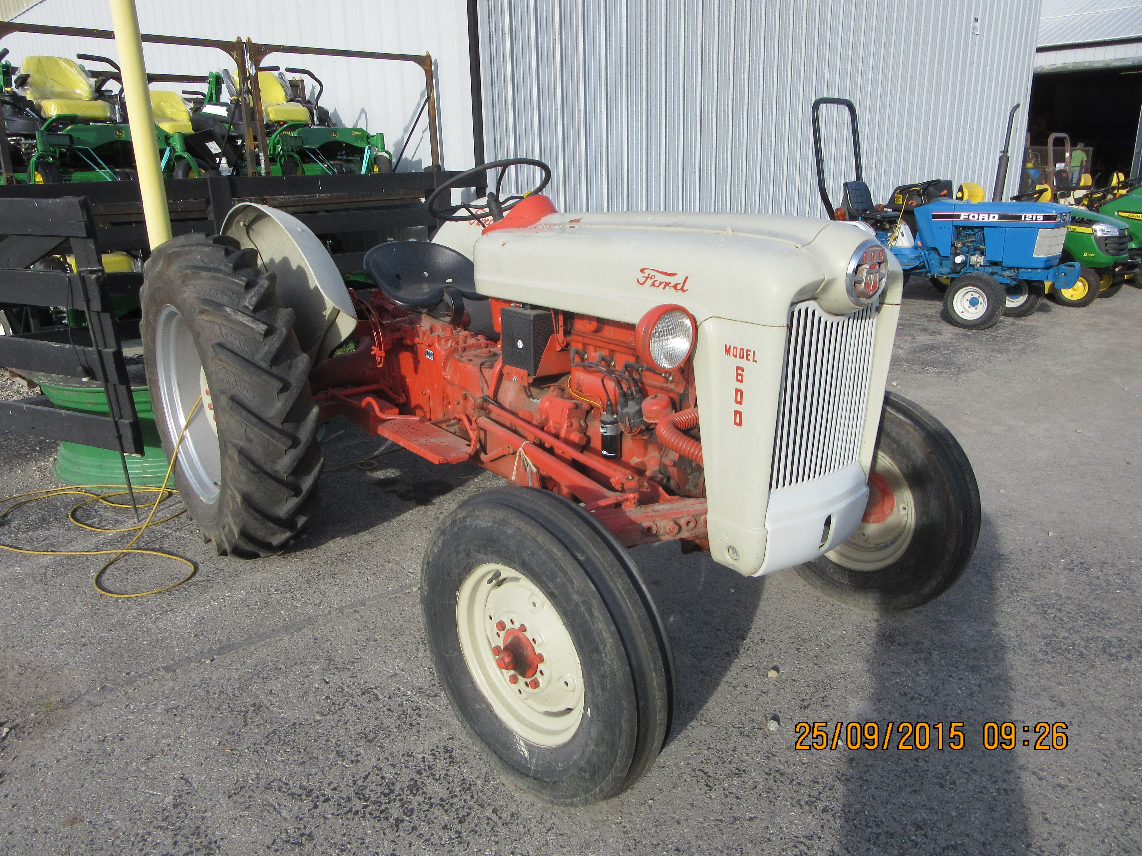 1955 30hp Ford 600 Ford Tractors