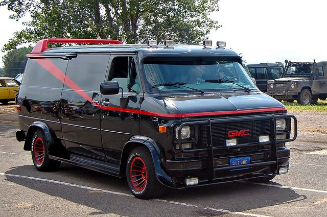 1994 Gmc Vandura A Team Replica Gmc Vans Cars Movie Tv Cars