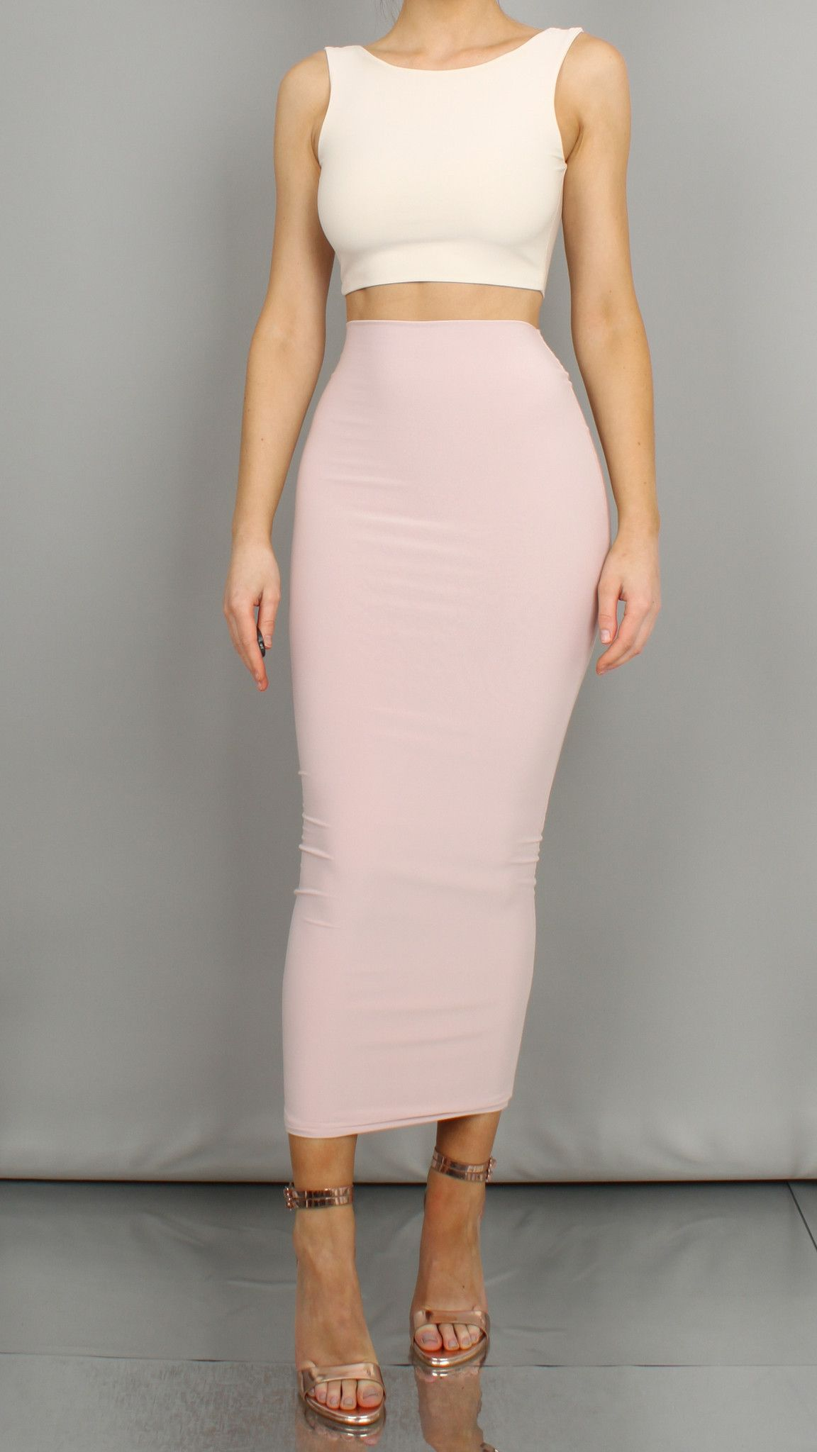 7c72714c9b Savannah Maxi Skirt Pink Skirt Outfits, Pencil Skirt Outfits, Work Outfits, Pencil  Skirts