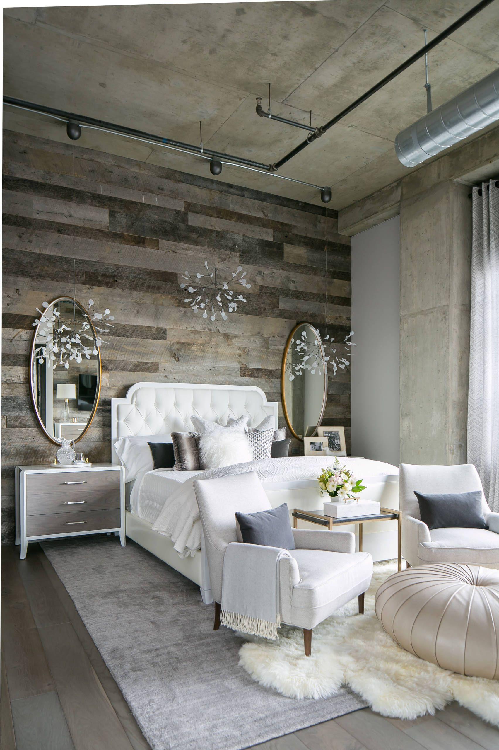 5 Easy Steps To Designing A Super Cozy Bedroom Loft Style Living Loft Style Master Bedroom Diy