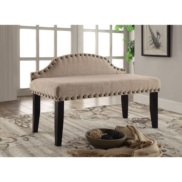 Millersburg Upholstered Bench Joss Main Upholstered Bench Furniture Small Upholstered Bench