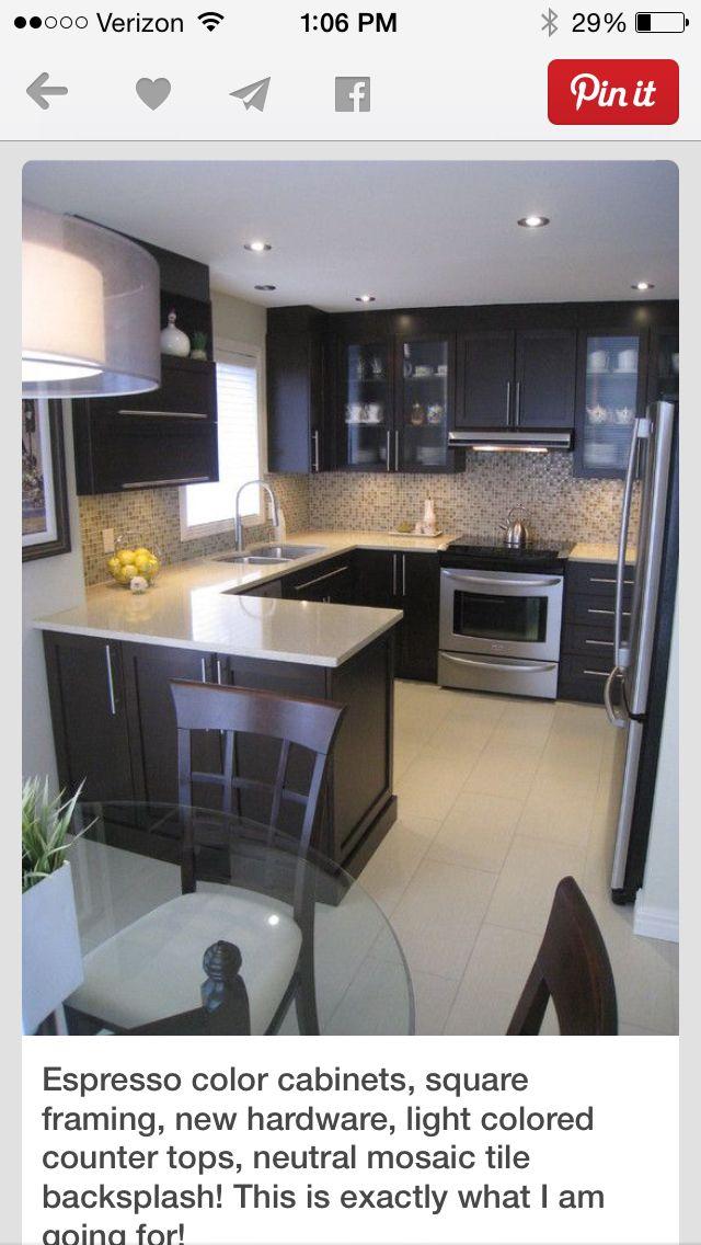 Kitchen | Kitchen/ Nook | Pinterest | Barras de cocina, Cocinas y ...