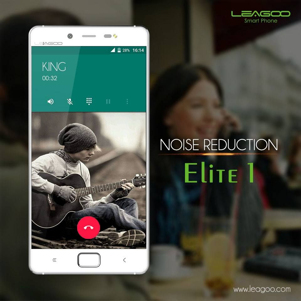 Elite 1 is equipped with 2 builtin microphones, one for