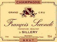 Francois Seconde Grand Cru Brut, Champagne, France label