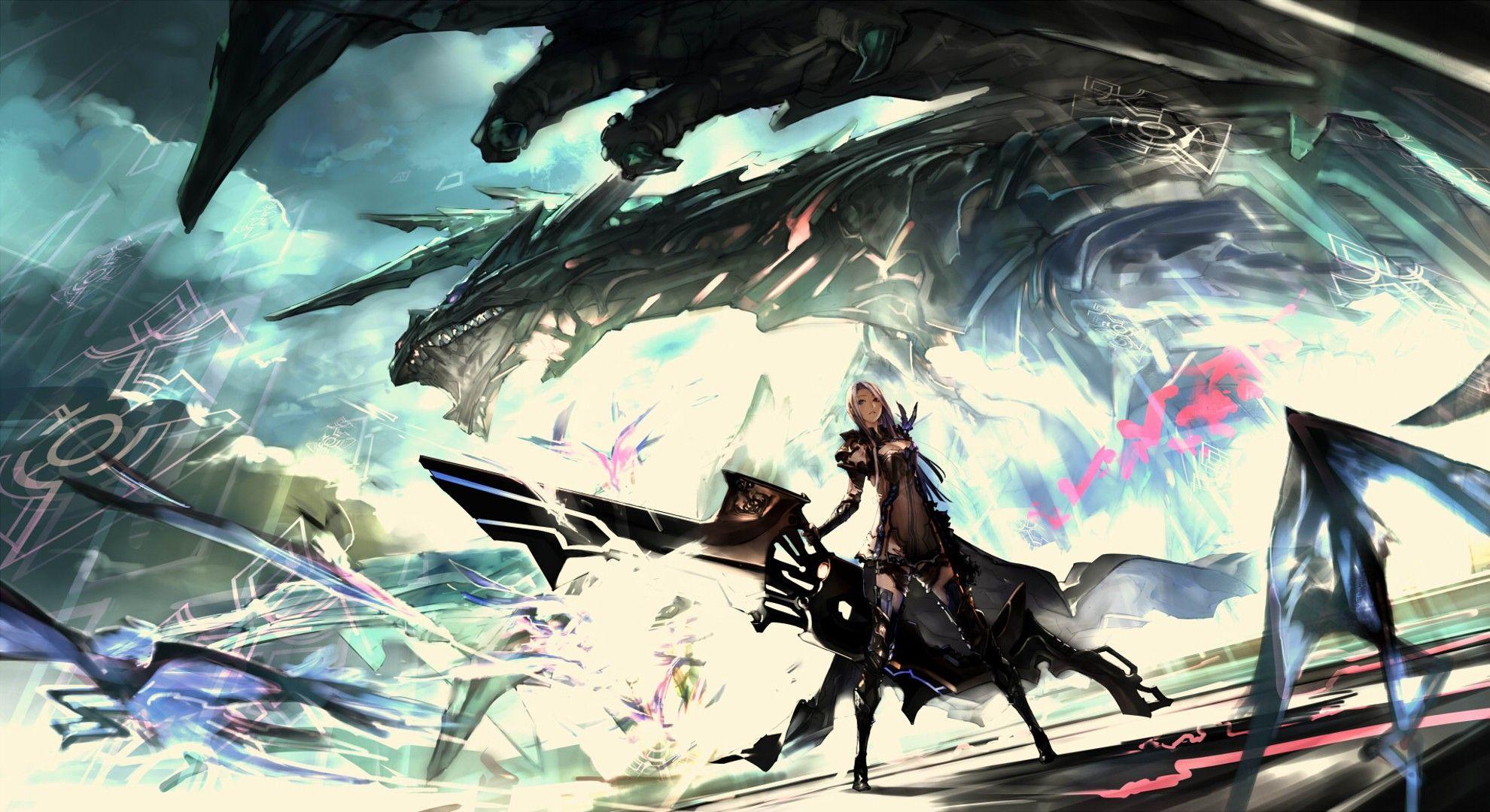 Dragon Wallpaper No 181230 Fantasy Art Anime Art Beautiful Anime