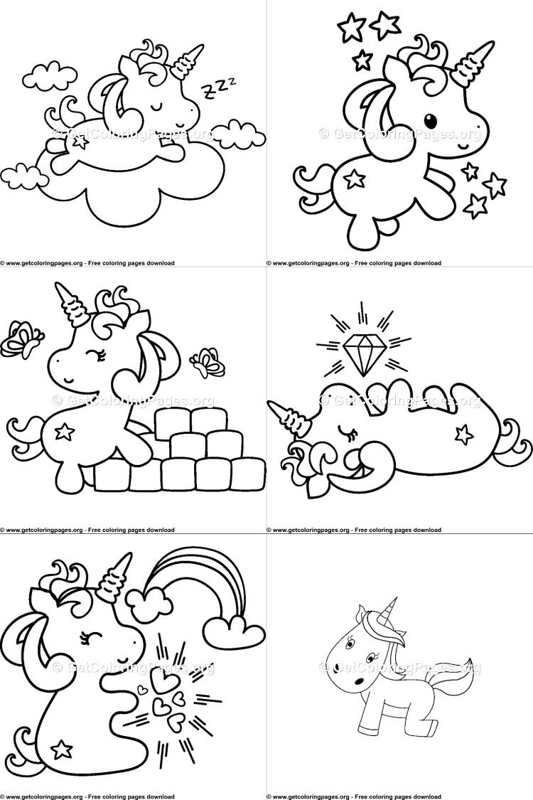 Unicorn Emoji coloring pages | Emoji coloring pages ...