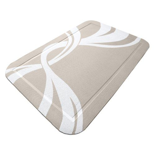 http://procarpetsupply.com/petfusion-smartgrip-cat-litter-mat-beige-and-white/ SmartGrip Cat Litter Mat keeps cat litter off your floor! Soft material acts as a cushion to prevent litter from 'popping' into the air and onto your floors. Unique design and outer channel does the rest, holding litter in place and on the large surface area for easier cleaning. More practical than other cat litter mats that trap litter under carpet fibers, making clea...
