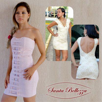 Acesse e  veja todo o estoque disponível. Loja online http://santabellezza.com.br/loja/camisas-e-vestidos/vestidos-curtos.html Frete grátis para todo o Brasil.