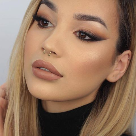 Photo of @byjeannine looks so flawless in this cat-eye look paired with Middle Karma Drea… –  #abyje…