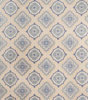Home Decor 8''x 8'' Fabric Swatch-Jaclyn Smith Irvington Cobalt