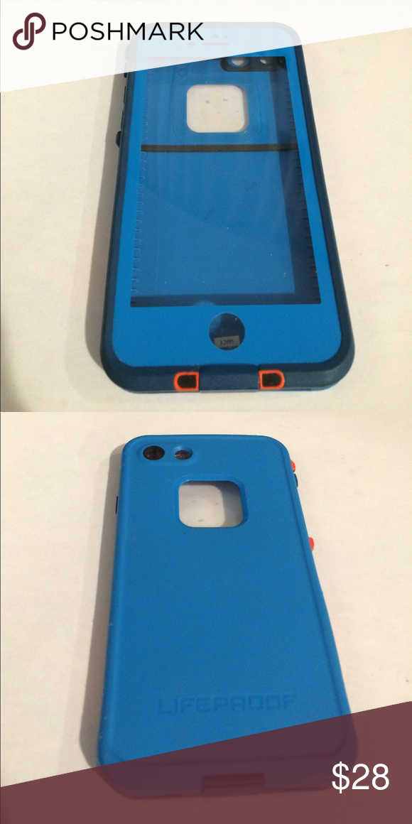low priced 44aca 20143 LifeProof Blue Waterproof Fre Case for iPhone 7, 8 Gorgeous blue ...