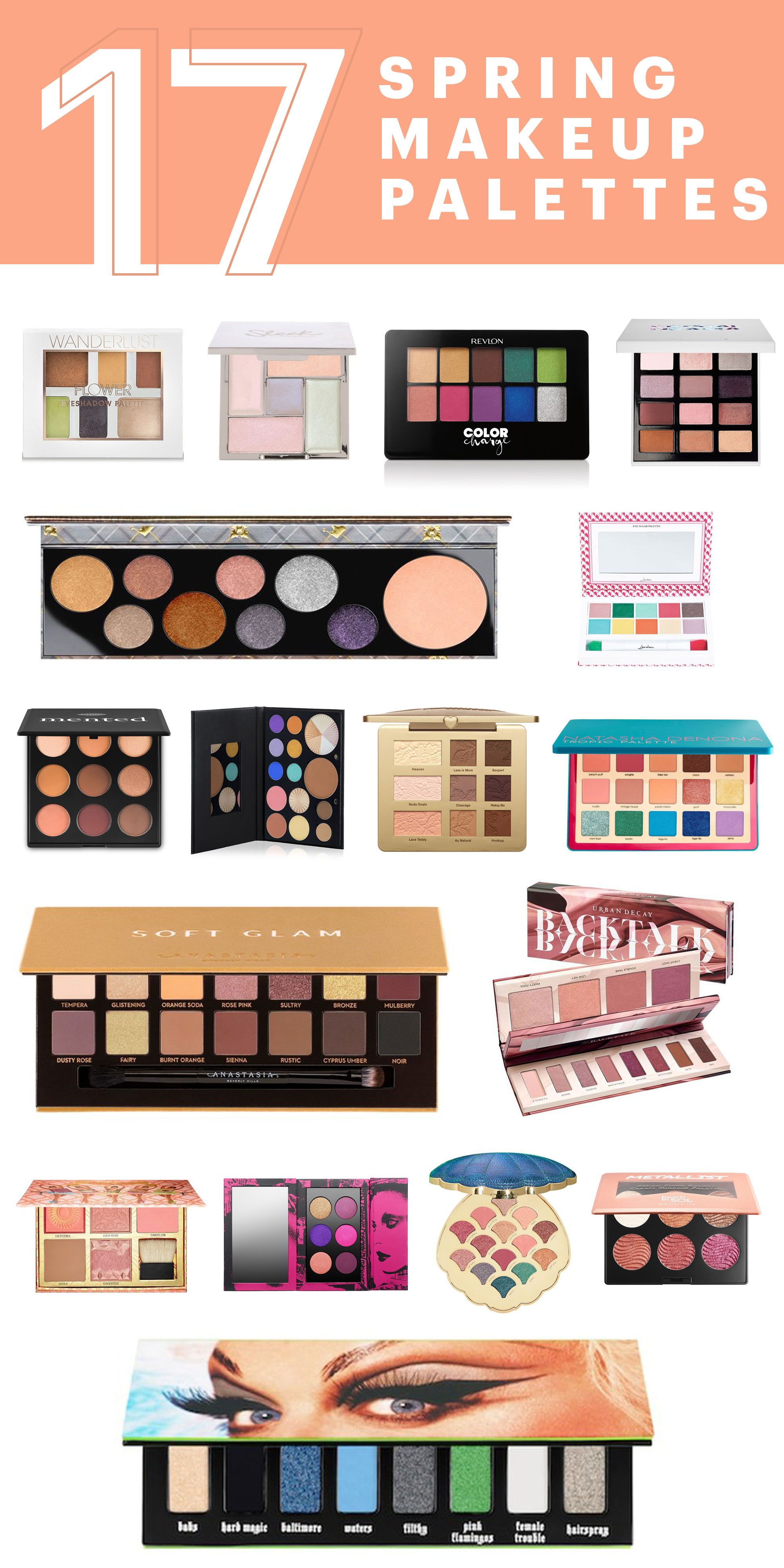 17 New Makeup Palettes You Need To Try This Spring With Images