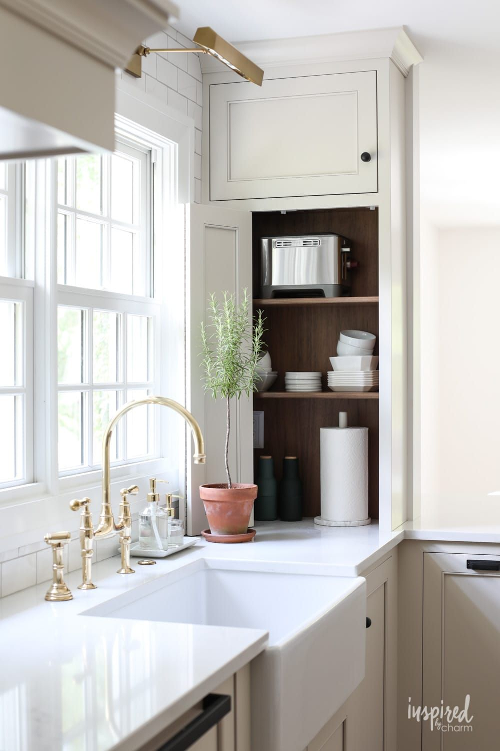 Bayberry Kitchen Remodel Reveal Inspired By Charm Kitchen Makeover Kitchen Remodel Kitchen Decor Modern Grey Kitchen