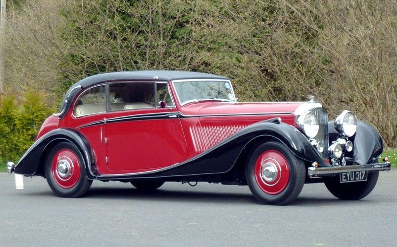 Bentley Litre Vanden Plas Coupe Classic Cars