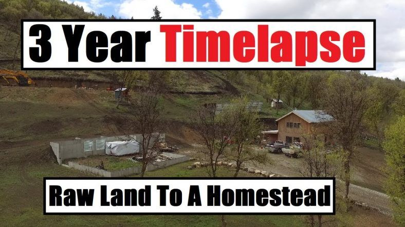 I Built My House By Myself 3 Year Timelapse Off Grid Debt Free Off Grid Homestead Off The Grid Off Grid Living