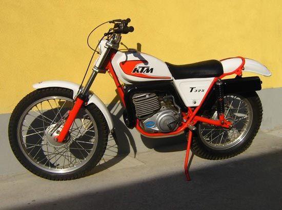 Ktm T325 Trial Prototype 1978 Trial Bike Bike Classic Motorcycles
