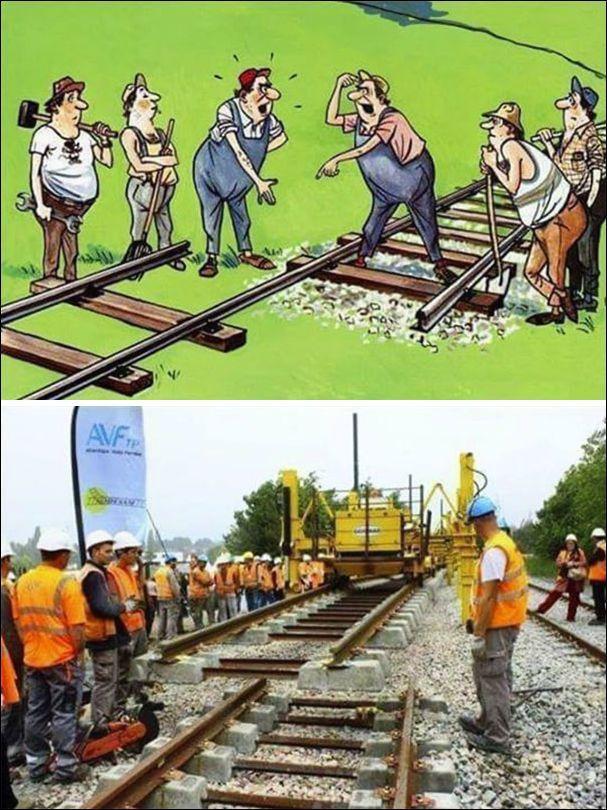 Прикол картинка, железнодорожник смешная картинка