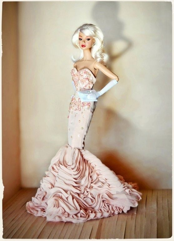mermaid gown barbie® doll - Google Search | Dolls: Barbie Vs ? Who ...