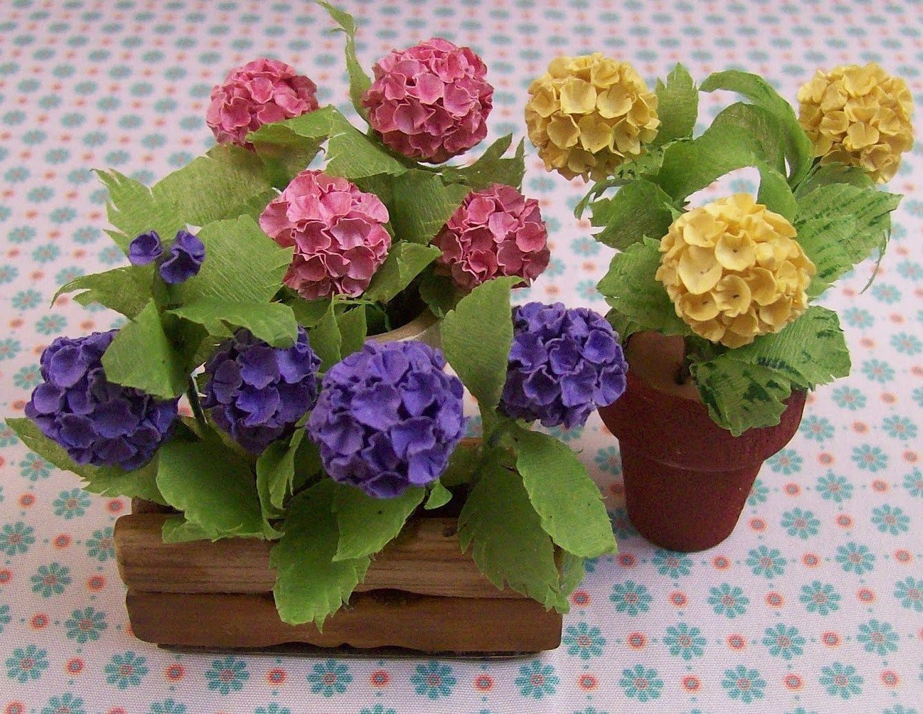 How To Hydrangeas Tutorials Miniature Flowers Hydrangeas