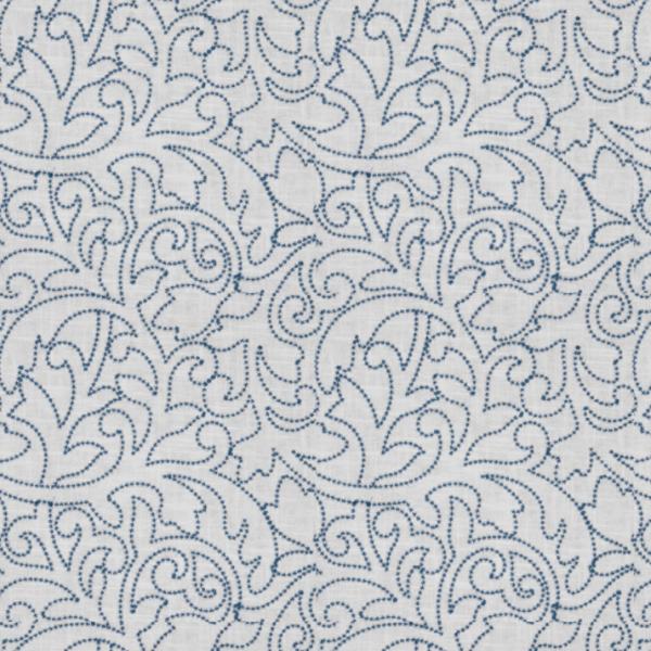 Prosody Fabric in 2020 Fabric decor, Fabric, Indigo fabric