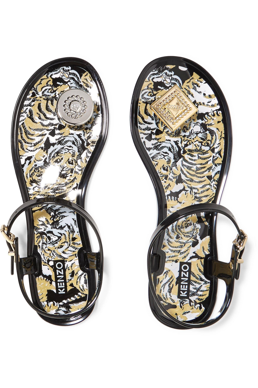4fff824bad68 Embellished rubber sandals