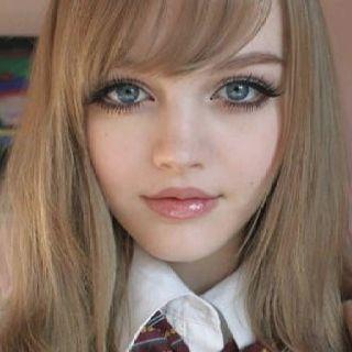 Pin By Nuzhat Tahir On Makeup Anime Hairstyles In Real Life Dakota Rose Real Barbie