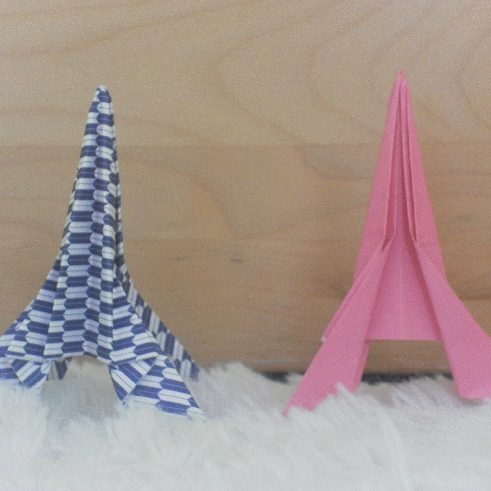 How to fold an origami eiffel tower easy youtube origami how to fold an origami eiffel tower easy youtube jeuxipadfo Choice Image