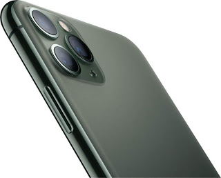 Apple iPhone 11 Pro Max, 64GB, Unlocked - Midnight Green (Renewed)