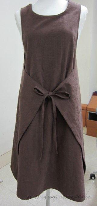 wrap apron dress