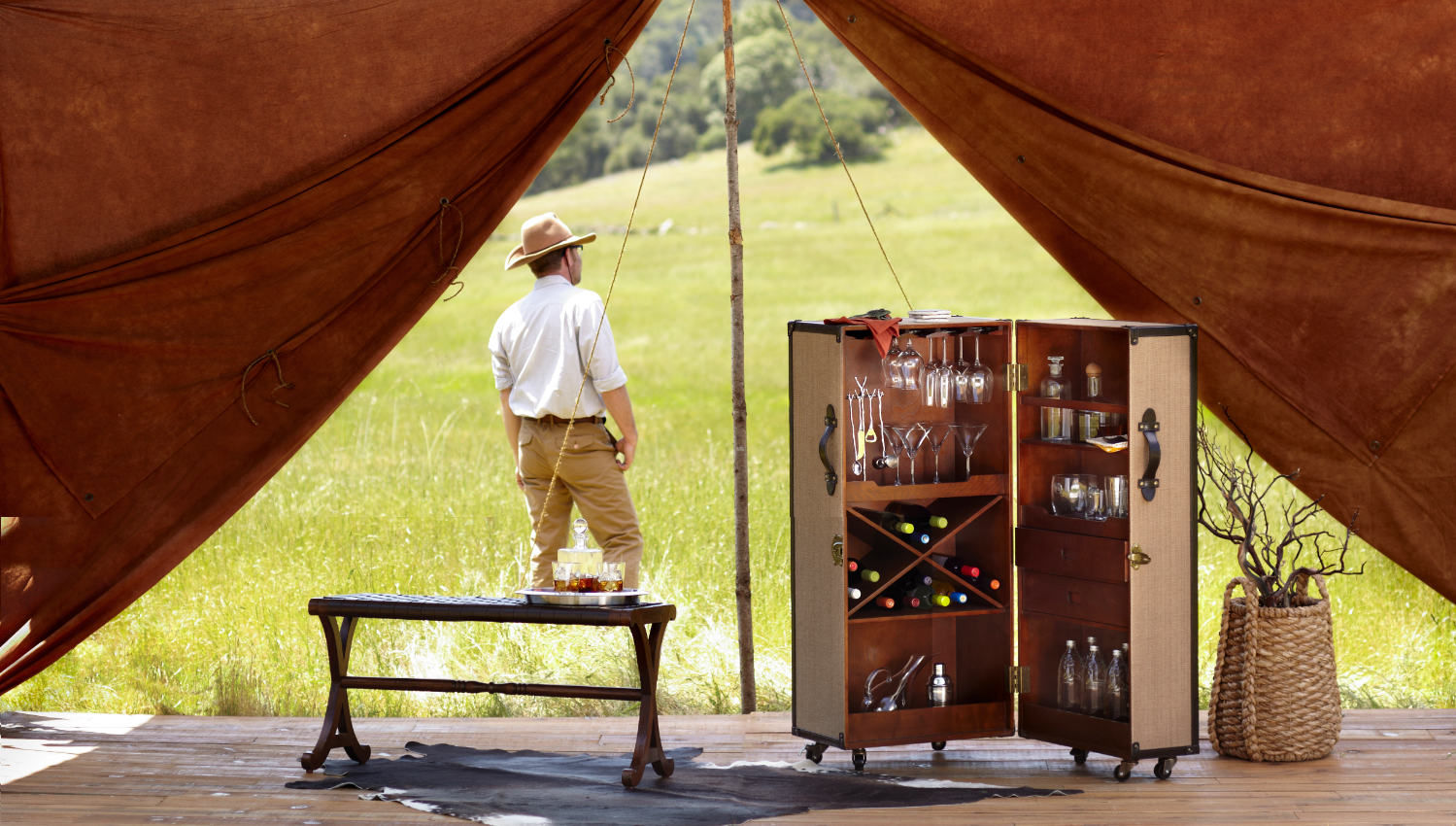 Wild Entertainment! Tell tall tales over perfectly served cocktails and savory snacks! #WorldMarket