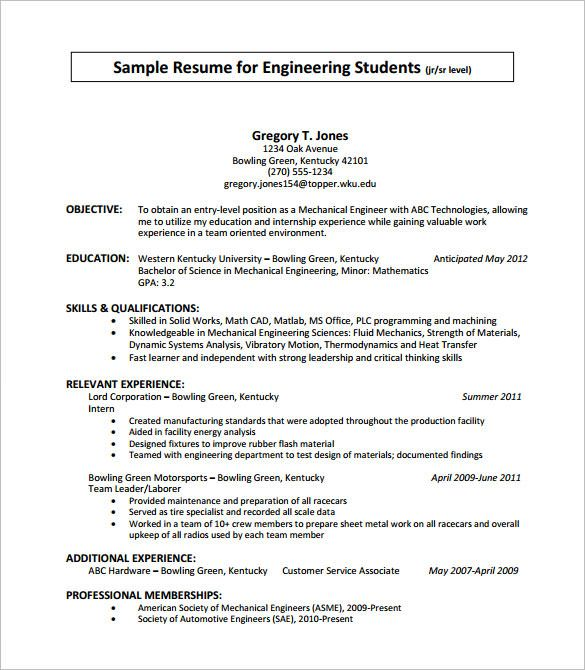Internship Resume Format Stunning Resume Format For Internship  Pinterest  Sample Resume Template .